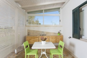 veranda esterna del monolocale