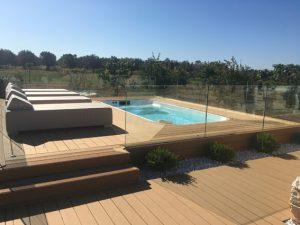 piscina idromassaggio nel cuore della campagna salentina