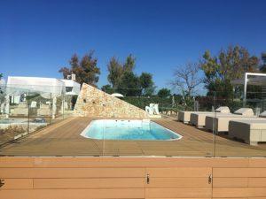 vacanza in agriturismo con piscina idromassaggio